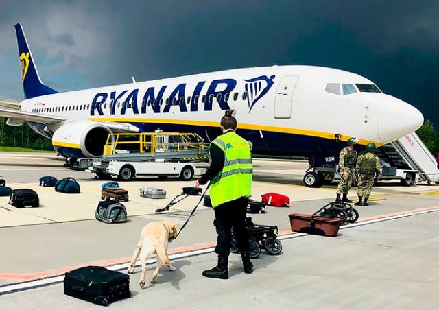 Посла Беларуси вызвали в МИД Чехии из-за инцидента с рейсом Ryanair