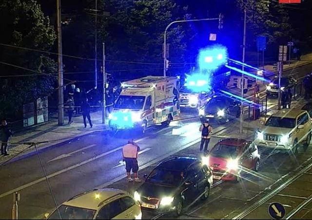 Иностранцы устроили поножовщину в центре Праги
