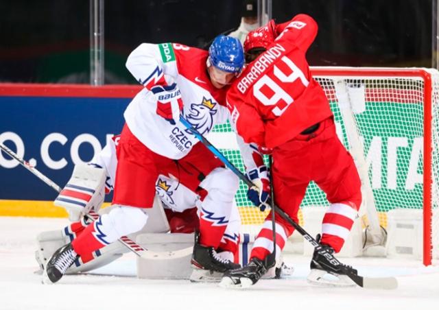 Чехия проиграла России на ЧМ по хоккею: обзор матча