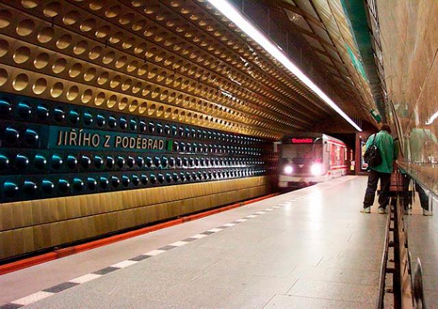 Станцию метро Jiřího z Poděbrad закроют на 10 месяцев, но неизвестно когда