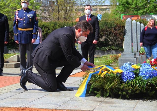 Посол Украины напомнил о значительном вкладе украинцев в освобождение Чехословакии