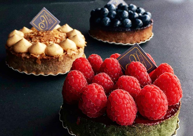 Новая красота от пражской кондитерской Café Millème – вкуснейшие тарты