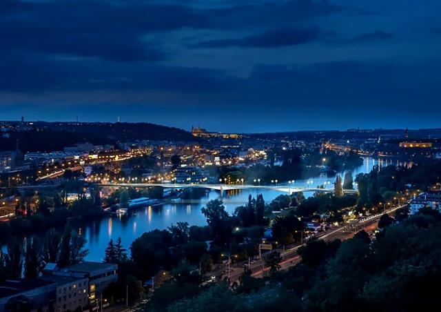 В Праге построят новый мост через Влтаву