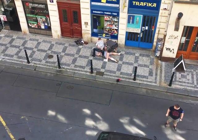 В центре Праги произошла стрельба: полиция задержала подозреваемого