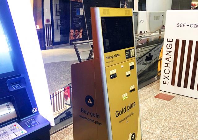 В Праге установили первый автомат по продаже золотых слитков