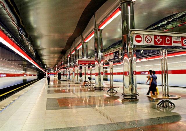 Участок красной ветки пражского метро закроют на два дня