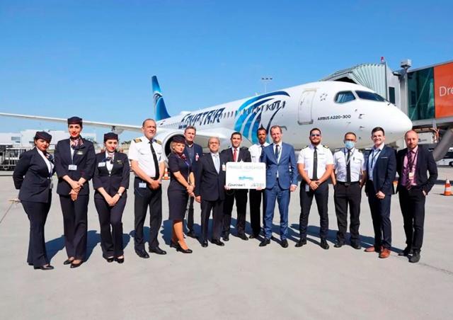 EgyptAir начала летать между Прагой и Хургадой
