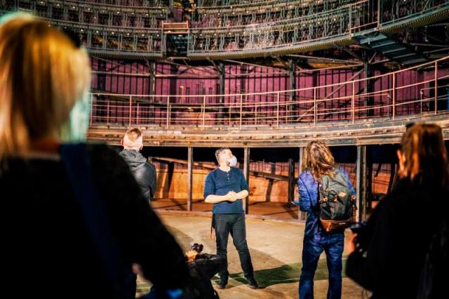 В Праге началась реконструкция кругового театра «Спираль»