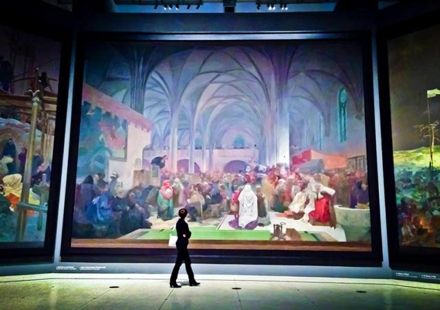 «Славянская эпопея» на пять лет покинет Прагу