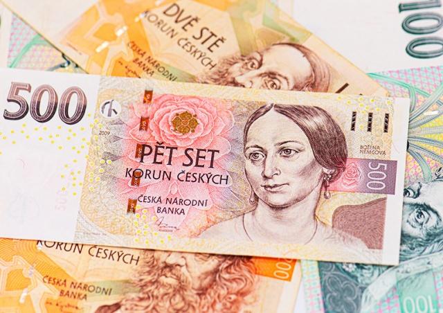 Кто изображен на чешских банкнотах