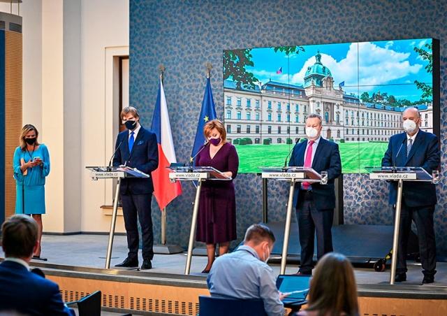 Правительство Чехии одобрило смягчение карантинных мер с 1 июля