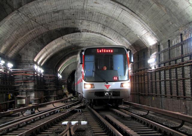 Участок красной ветки пражского метро закроют на 9 дней