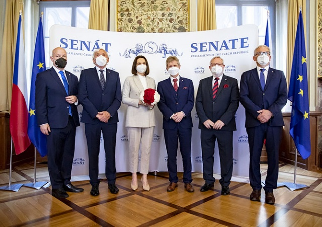 Тихановскую в Чехии приняли как президента Беларуси