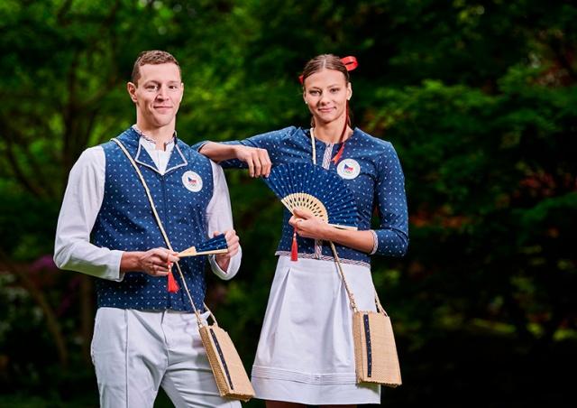 Представлена парадная форма чешских спортсменов для Олимпиады в Токио