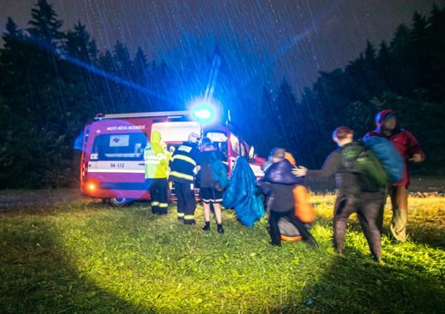 Два человека погибли в Чехии в результате сильной грозы