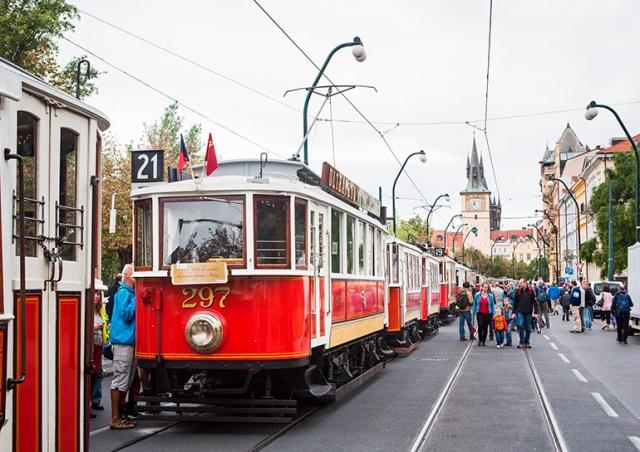 В воскресенье в Праге пройдет парад исторических трамваев