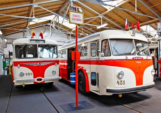 Куда сходить: музей общественного транспорта Праги