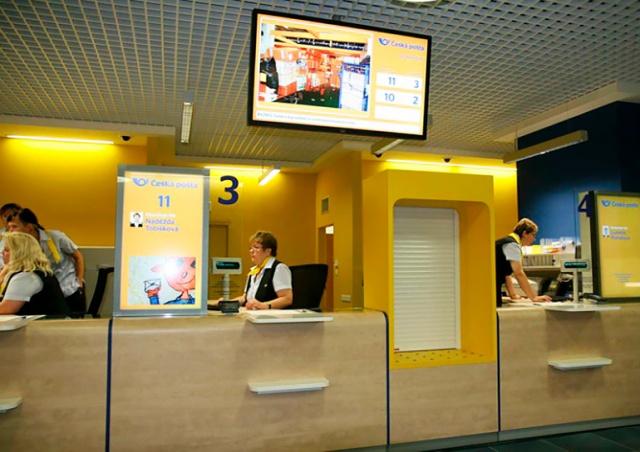 «Чешская почта» запустила онлайн-резервацию времени визита