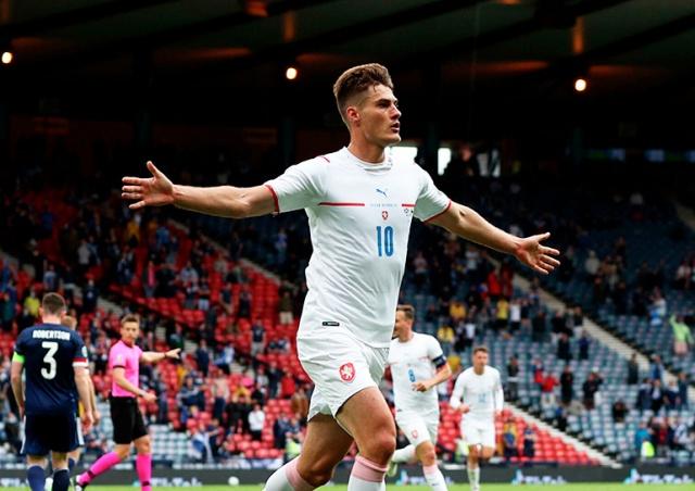 Гол сборной Чехии признан самым красивым на Евро-2020