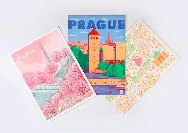 Прага выпустила новую коллекцию официальных сувениров