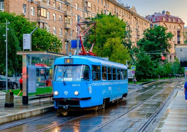 Москва простилась с чешскими трамваями Tatra T3