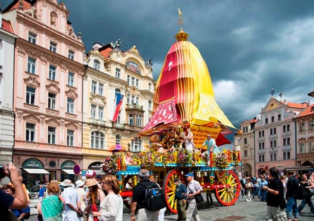 В центре Праги пройдет индийский фестиваль Ратха-ятра
