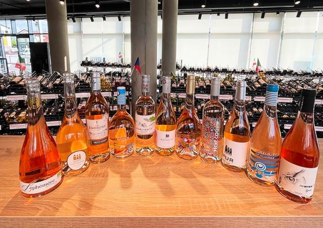 Распродажа в магазине LÁHVE: скидка 40% на розовые вина из Франции