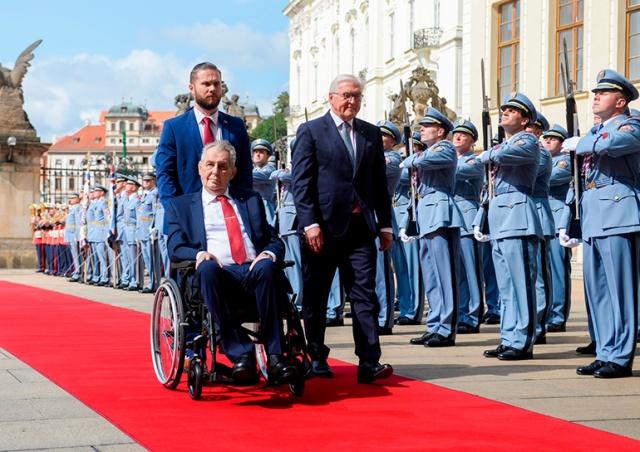 Пражский Град сообщил о состоянии здоровья президента Чехии