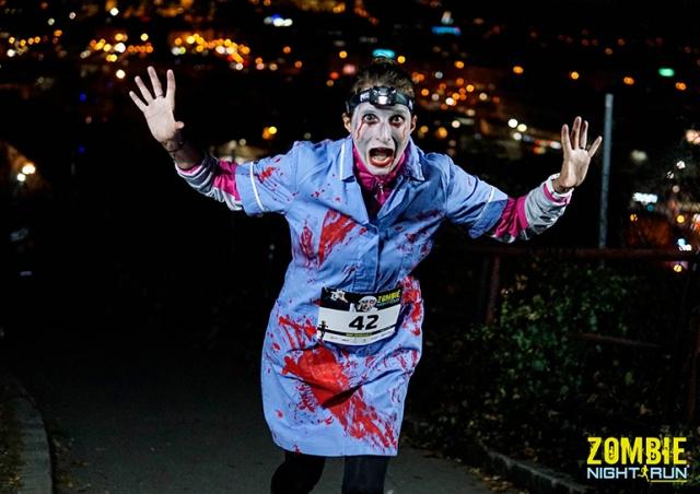 В Праге пройдет «Зомби-забег»