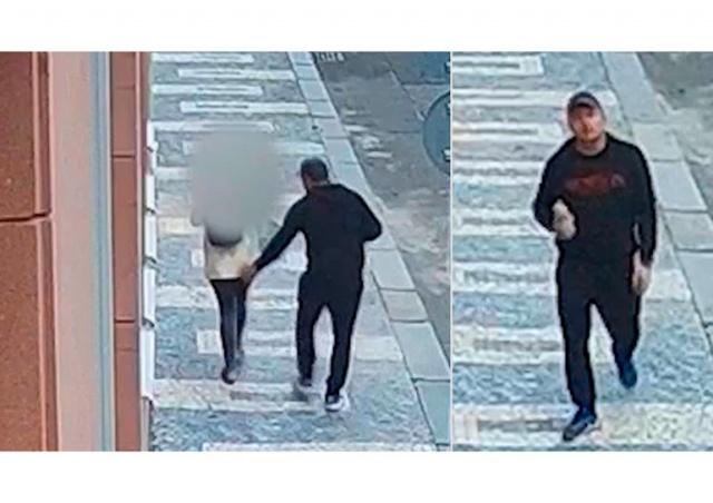 Неизвестный домогался прохожей на улице в центре Праги: видео