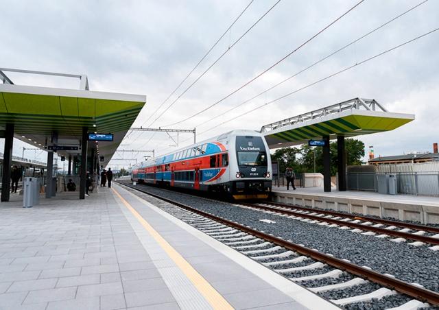 В Праге открыли новую железнодорожную станцию