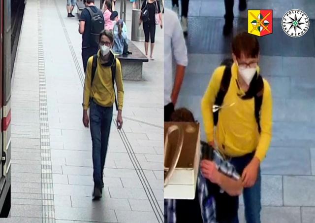 В Праге неизвестный сексуально домогался девушки в метро