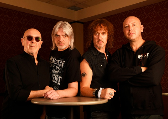 Группа Nazareth даст концерт в Праге