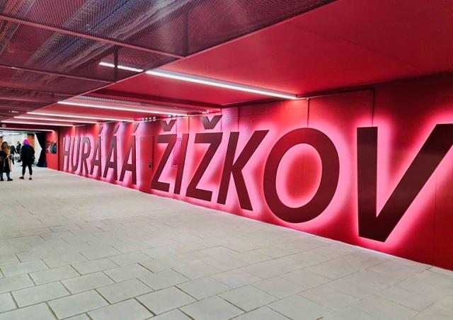На Главном вокзале Праги открыли подземный переход к району Жижков