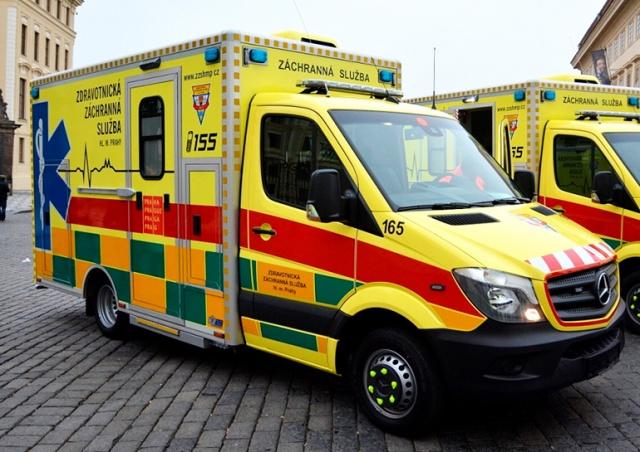 Из-за дорожных работ в Праге увеличилось время приезда скорой помощи