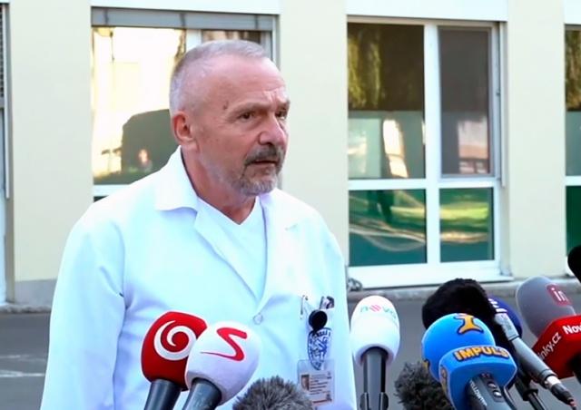 Лечащий врач президента Чехии сообщил подробности его госпитализации