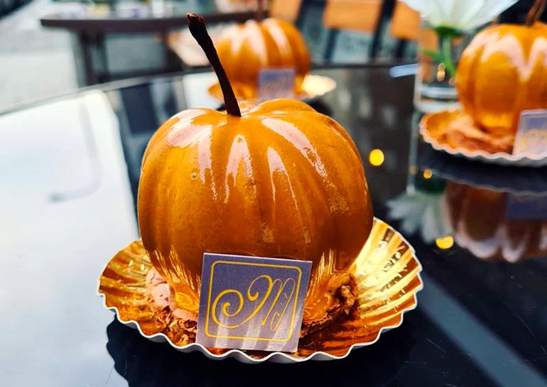 Изумительные десерты к Хэллоуину от пражской кондитерской Café Millème