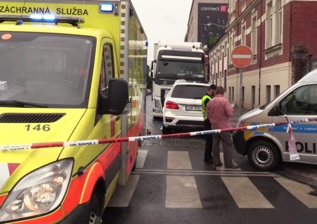 В Праге расследуют обстоятельства загадочного ДТП