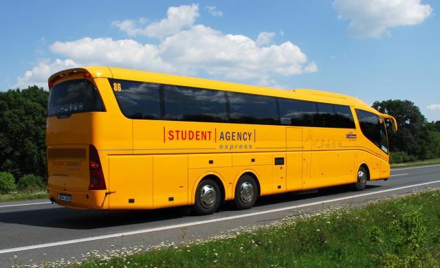 Путешествуем автобусами STUDENT AGENCY по Чехии и Европе
