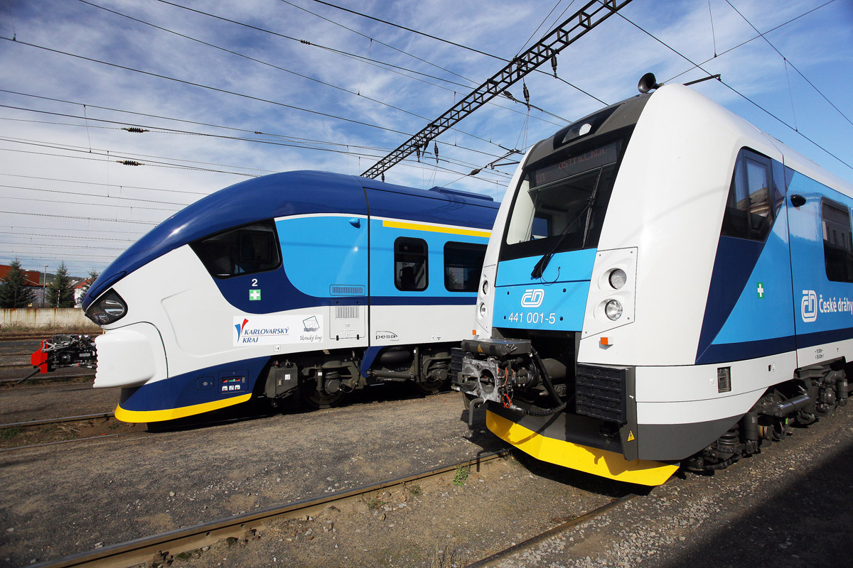 Поезда чешских железных дорог