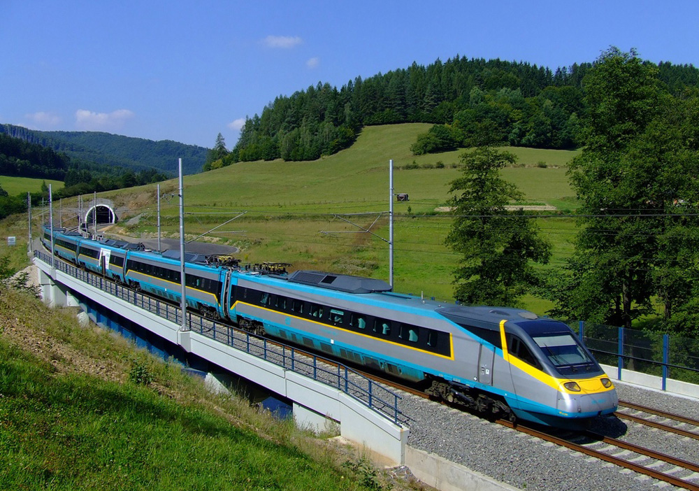 Поезд Pendolino Чехия
