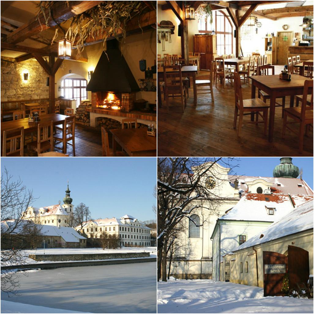 Ресторан в монастыре Прага