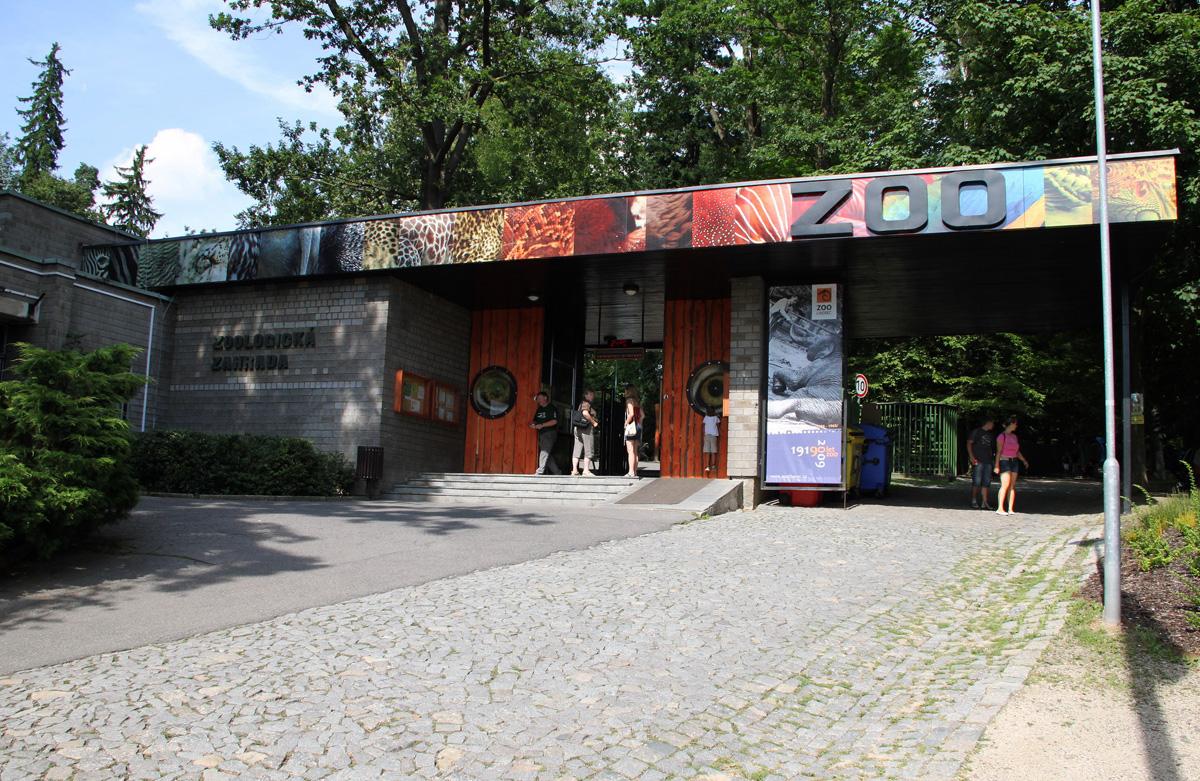 Зоопарк в чешском городе Либерец