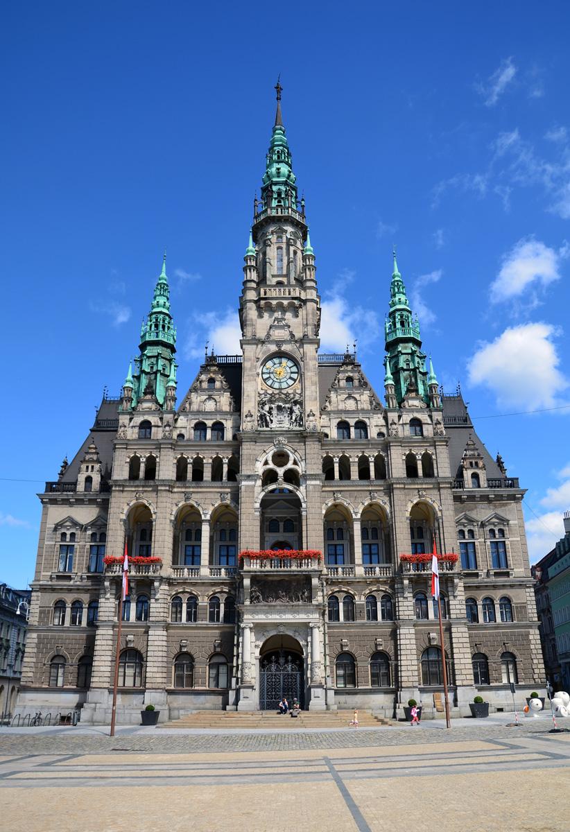 Городская ратуша в Либерце