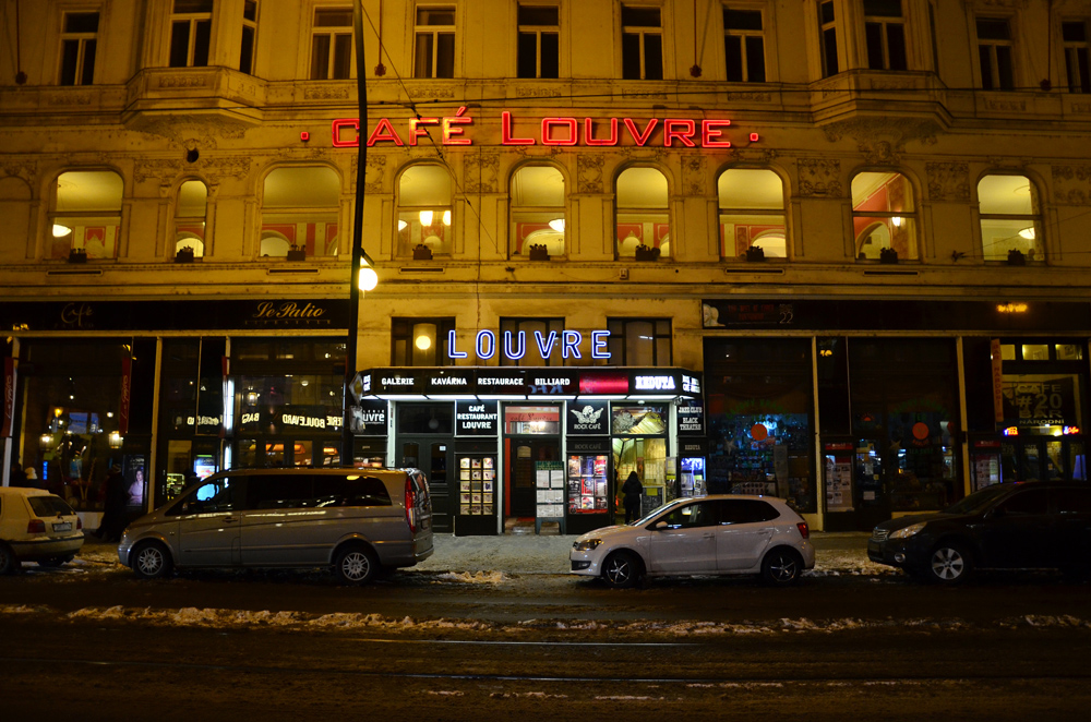 "Кафе ""Лувр"" в Праге"