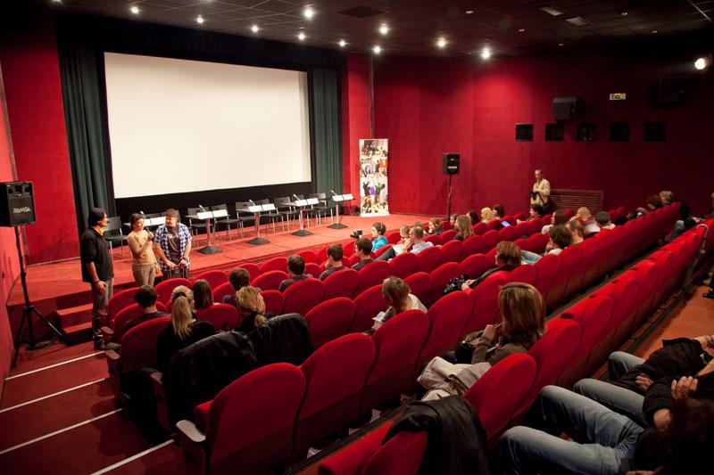 Кинотеатр Atlas в Праге