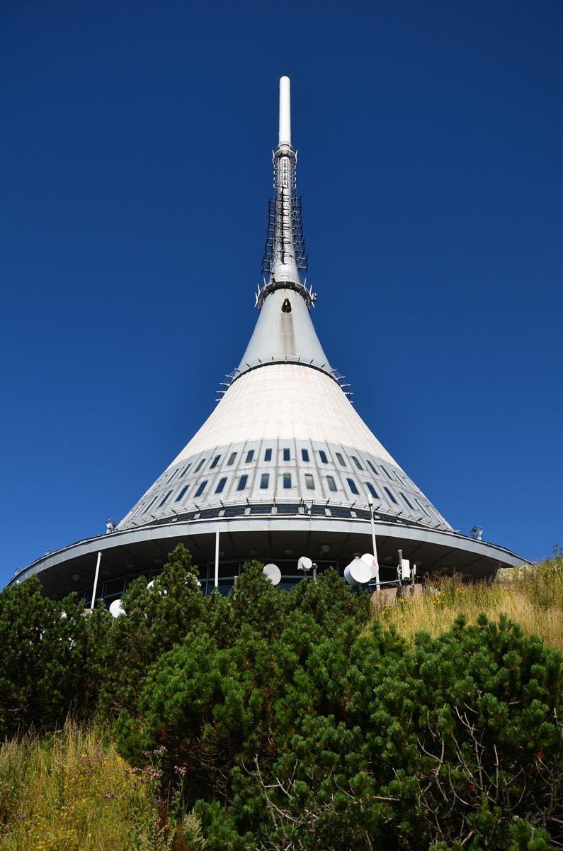"Ретрансляционная башня ""Йештед"" в Либерце"