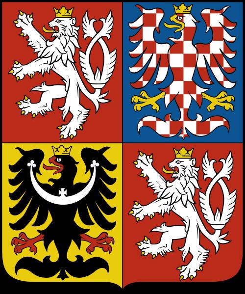 Большой государственный герб Чехии