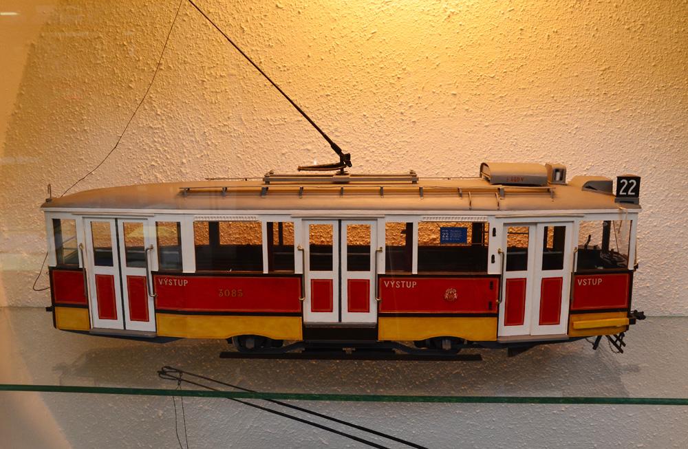 В музее много детальных моделей