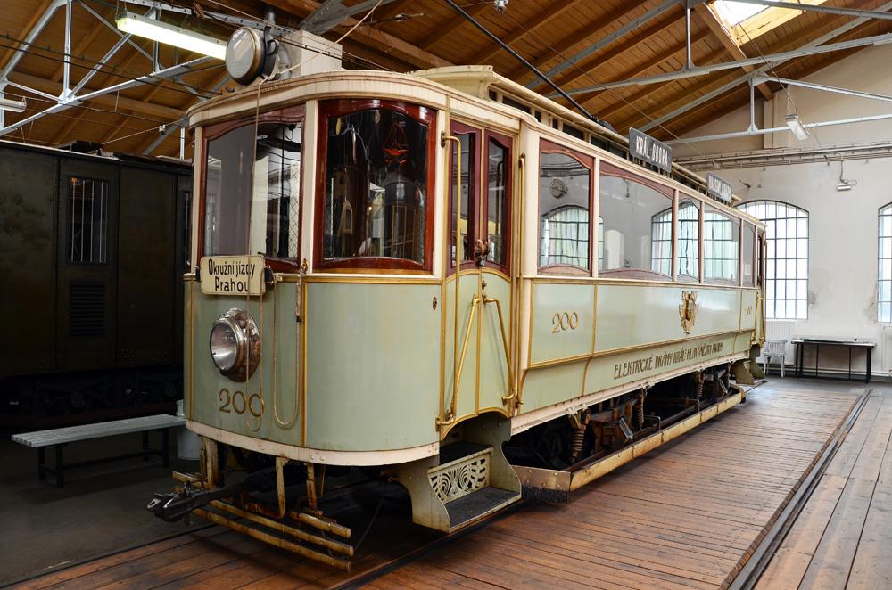 Красавец трамвай образца 1901 года